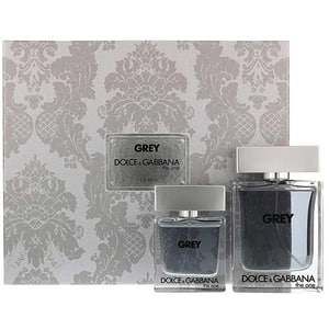 Set cadou DOLCE&GABBANA The One Grey Intense: Apa de toaleta, 100ml + Mini apa de toaleta, 30ml