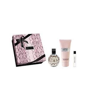 Set cadou JIMMY CHOO Jimmy Choo: Apa de parfum, 100ml + Lotiune de corp, 100ml + Apa de parfum, 7.5ml