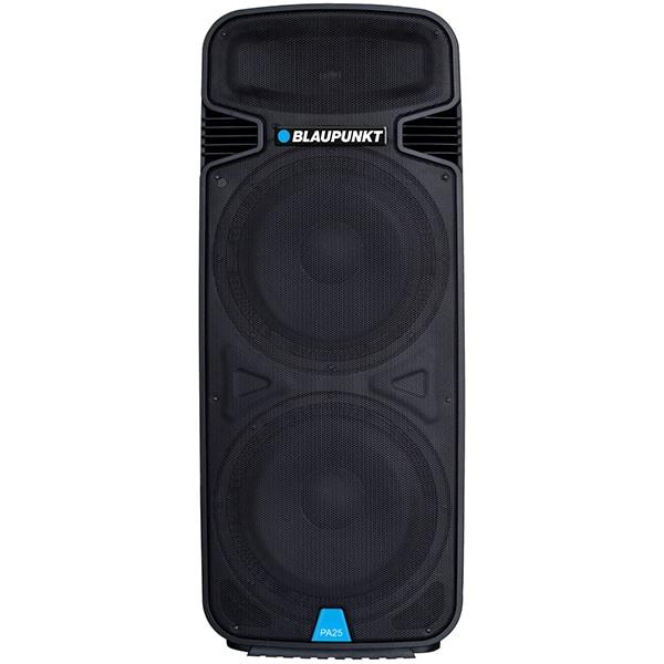 Boxa profesionala BLAUPUNKT PA25, 1900W, Bluetooth, USB, SD, Radio FM, Karaoke, negru