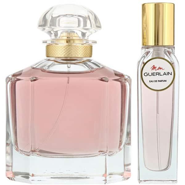 Set cadou GUERLAIN Mon Guerlain: Apa de parfum, 100ml + Apa de parfum, 15ml
