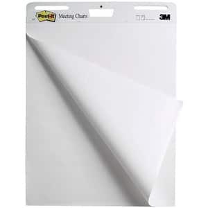 Chart prezentare 3M, 63.5 x 77.5 cm, alb