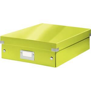 Cutie organizare LEITZ Click & Store Organizer, 281 x 100 x 370 mm, carton, verde