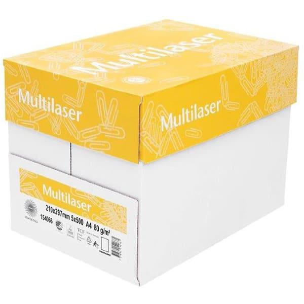 Hartie copiator MULTILASER, A4, 500 coli, 5 topuri/cutie