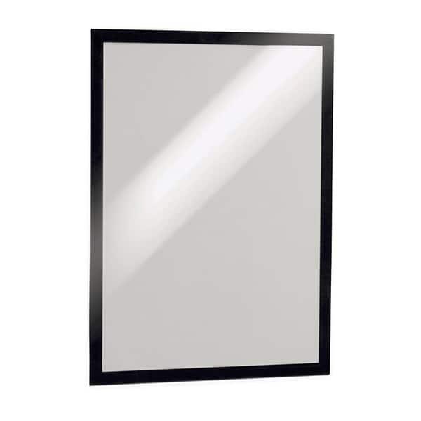 Display magnetic DURABLE Duraframe, A3, 2 bucati, negru