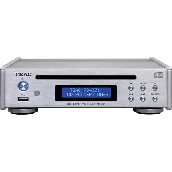 CD Player TEAC PD-301DAB-X-S, USB, DAB, FM, argintiu