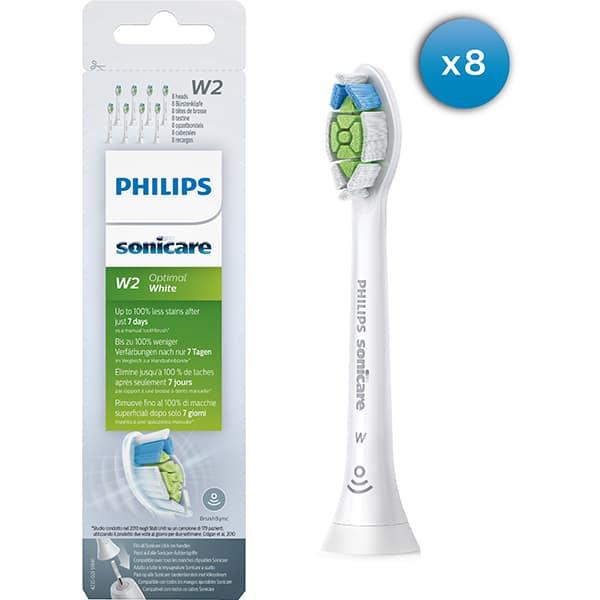 Set 8 rezerve periute PHILIPS Sonicare Optimal White HX6068/12