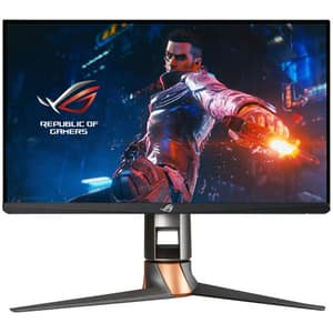 "Monitor Gaming LED IPS ASUS ROG Swift PG259QNR, 24.5"" Full HD, 360Hz, G-Sync, negru"