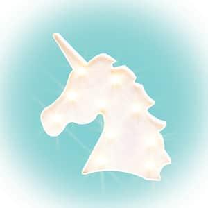 Figurina unicorn cu LED HOME PLM10U