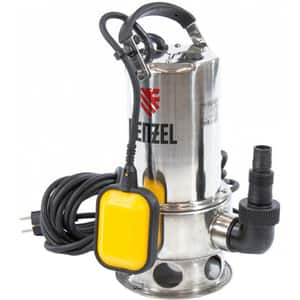 Pompa submersibila DENZEL DP1100X, 1100W, 15500l/h, argintiu