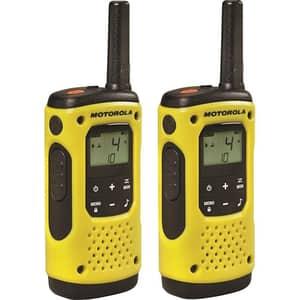 Statie radio PMR portabila MOTOROLA TLKR T92 H2O IP67, 2buc, galben