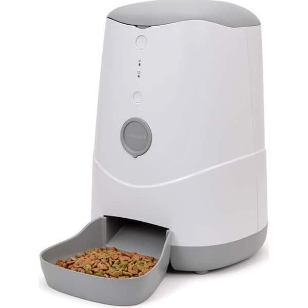 Dispenser smart pentru animale PETONEER Nutri Smart, 3.7l, Control Aplicatie, alb