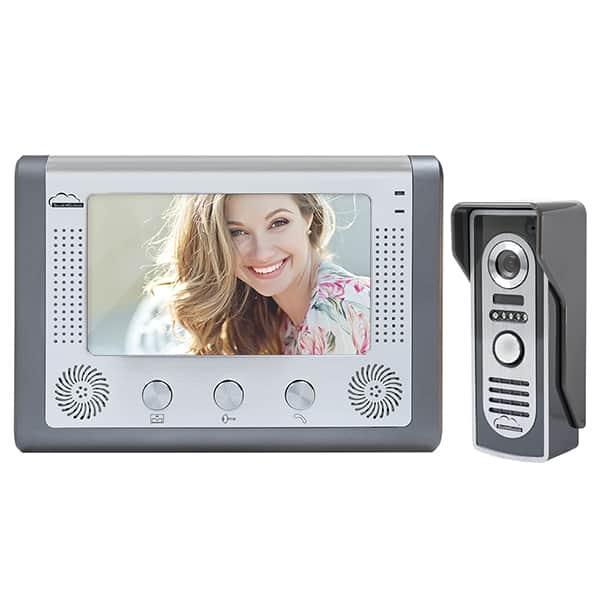 Interfon video PNI SC715, 7 inch, negru-argintiu
