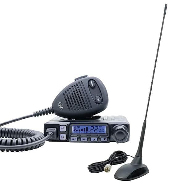 Kit Statie radio CB PNI Escort  Escort HP 7120 + Antena PNI Extra 48 cu magnet inclus, ASQ