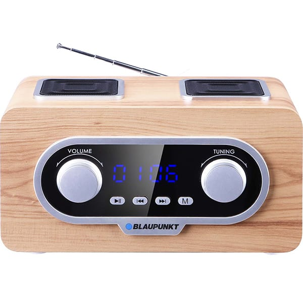 Radio portabil BLAUPUNKT PP5.2CR, FM, USB, SD, AUX, bej