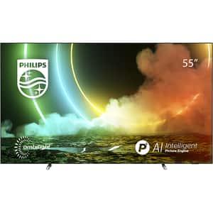 Televizor OLED Smart PHILIPS 55OLED706, 4K Ultra HD, HDR, 139cm