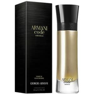 Apa de parfum GIORGIO ARMANI Code Absolu, Barbati, 110ml