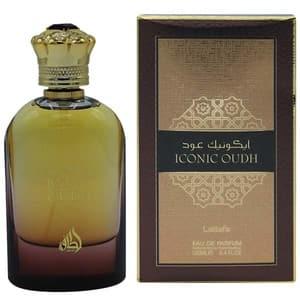Apa de parfum LATTAFA PERFUMES Iconic Oudh, Unisex, 100ml