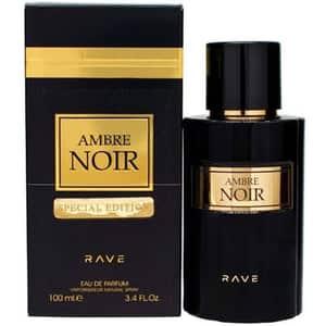Apa de parfum RAVE Ambre Noir, Unisex, 100ml
