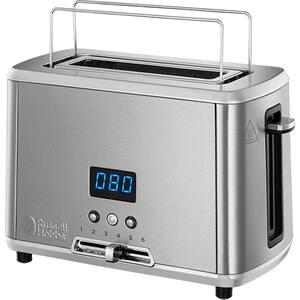 Prajitor paine RUSSELL HOBBS Compact Home 24200-56, 1 felie, 820W, argintiu