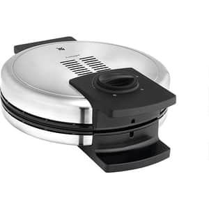 Aparat de facut waffe WMF Lono 415210011, 900W, argintiu-negru