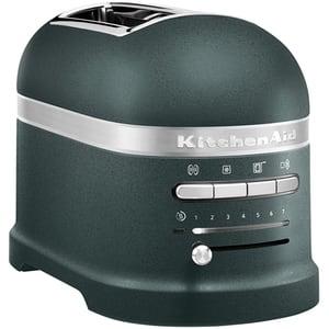 Prajitor paine KITCHENAID Artisan 5KMT2204EPP, 2 felii, 1250W, verde inchis-argintiu