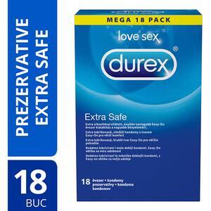 Prezervative DUREX Extra Safe, 18buc