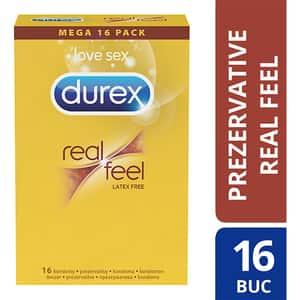 Prezervative DUREX  Real Feel, 16buc
