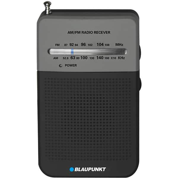 Radio portabil BLAUPUNKT PR3BK, FM/AM, Jack 3.5mm, negru