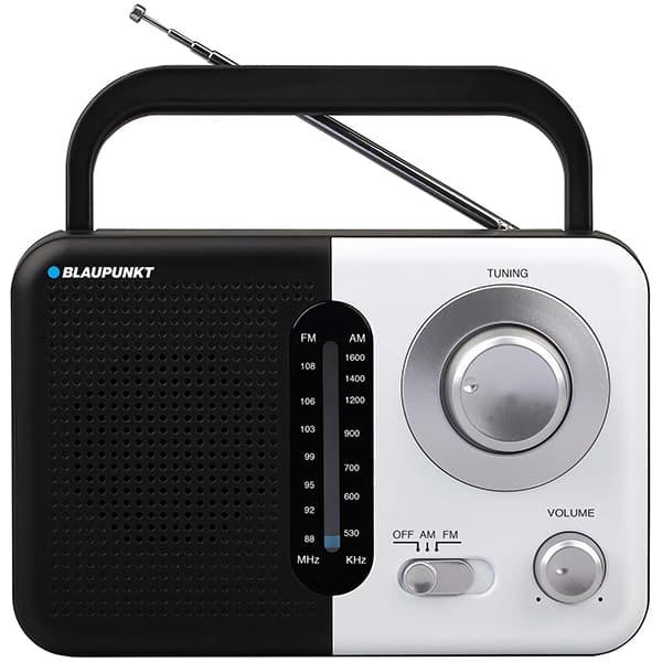 Radio portabil BLAUPUNKT PR7BK, FM/AM, Jack 3.5mm, negru-argintiu