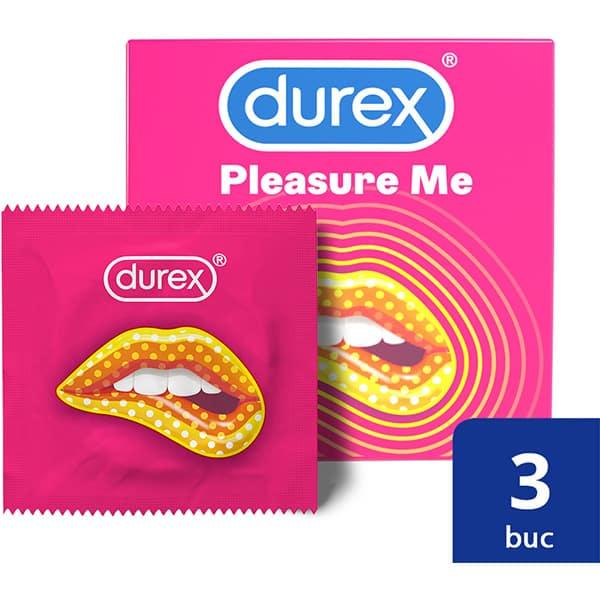 Prezervativ DUREX Pleasure Me, 3buc