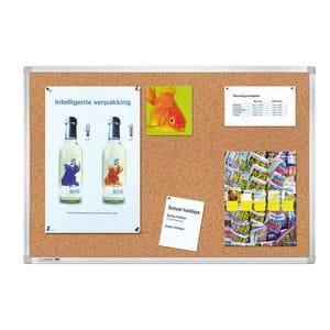 Tabla pluta LEGAMASTER Premium, 100 x 150 cm, maro