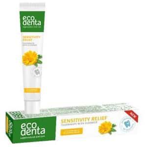 Pasta de dinti naturala cu extract de galbenele pentru dinti sensibili ECODENTA, 75ml