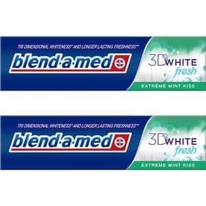 Pasta de dinti BLEND-A-MED Extreme Mint Kiss, 2buc x 100ml