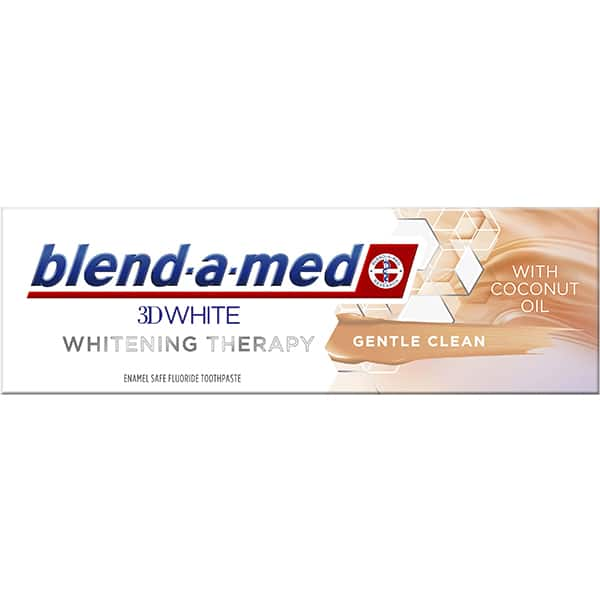 Pasta de dinti BLEND-A-MED 3DWhite Whitening Therapy Gentle Clean , 75ml