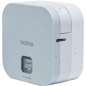 Imprimanta de etichete BROTHER P-touch CUBE PT-P300BT, Bluetooth si acumulator