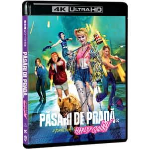 Pasari de prada si fantastica Harley Quinn Blu-ray 4K