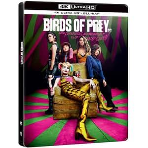Pasari de prada si fantastica Harley Quinn Steelbook Blu-ray 4K