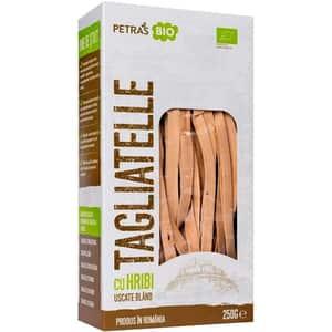 Paste Tagliatelle cu hribi PETRAS BIO, 250g