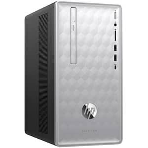 Sistem Desktop Gaming HP Pavilion 590-p0004nq, Intel Core i5-8400 pana la 4.0GHz, 8GB, 1TB, NVIDIA GeForce GTX 1050 Ti 4GB, Free DOS