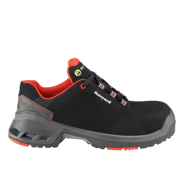 Pantofi de protectie HONEYWELL Prime ESD S3 SRC, bombeu compozit, microfibra, marimea 48, negru