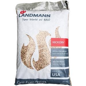 Peleti pentru gratar LANDMANN16320, Hickory, 9 kg