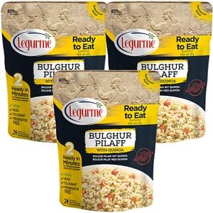 Pilaf bulgur cu quinoa LEGURME, 250g, 3 bucati