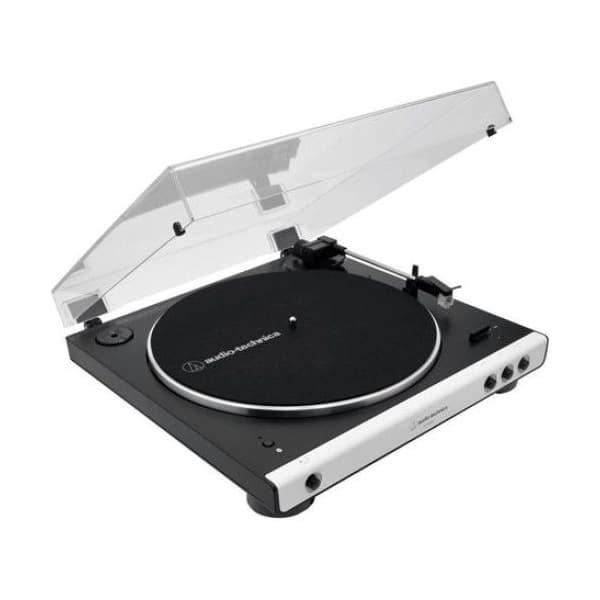 Pick-up AUDIO-TECHNICA AT-LP60XBTBK, RCA, alb