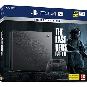 Consola SONY PlayStation 4 Pro (PS4 Pro) 1TB, The Last of Us Part II Limited Edition + joc The Last of Us Part II
