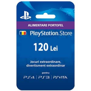 PlayStation Network Card 120 RON (PSN)