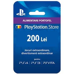 PlayStation Network Card 200 RON (PSN)