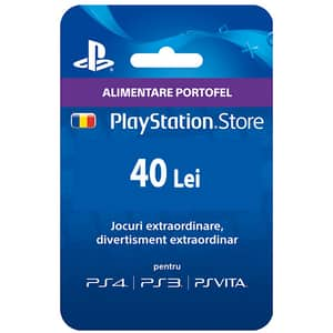 PlayStation Network Card 40 RON (PSN)