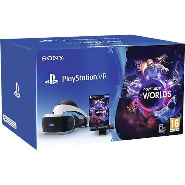 PlayStation VR Starter Pack + Camera PS V2 + PlayStation VR Worlds (Digital Version)