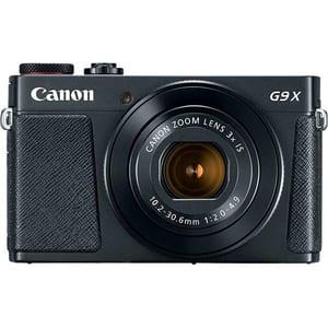 Aparat foto digital CANON Powershot G9 X Mark II, 20.9 MP, Wi-Fi, negru