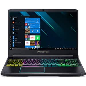 "Laptop Gaming ACER Predator Helios 300 PH315-53-78G2, Intel Core i7-10750H pana la 5.0GHz, 15.6"" Full HD, 32GB, SSD 1TB, NVIDIA GeForce GTX 1660Ti 6GB, Windows 10 Home, negru"